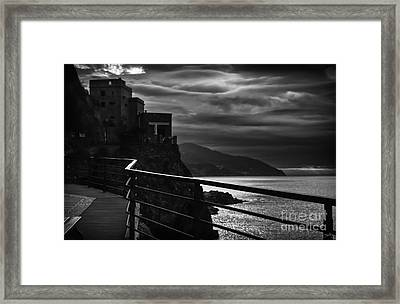 Old Monterosso Framed Print