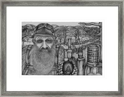Old Moonshiner  Framed Print by Tammy Brewer