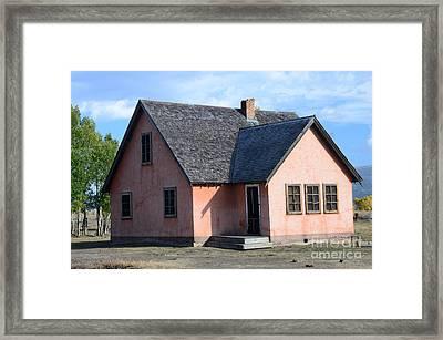Old Mormon Home Framed Print by Kathleen Struckle