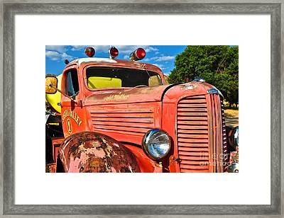 Framed Print featuring the photograph Old Mother by Vinnie Oakes