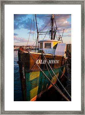 Old Mystic Framed Print by Karol Livote