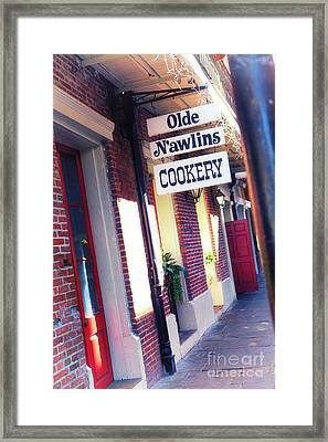 Framed Print featuring the photograph Old Nawlins by Erika Weber