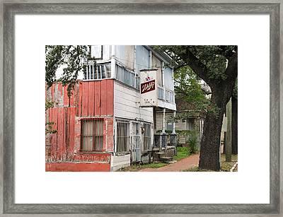 Old Neighborhood Bar Framed Print