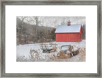 Old New England Framed Print by Bill Wakeley