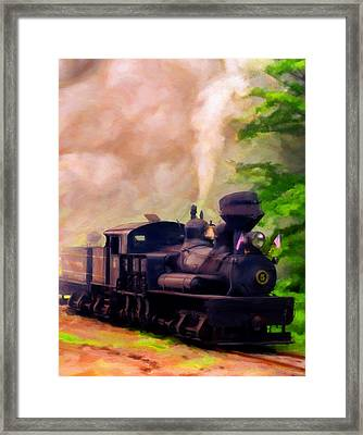 Old No. 5 Framed Print by Michael Pickett