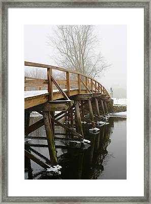 Old North Bridge Framed Print