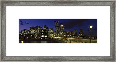 Old Northern Avenue Bridge Framed Print