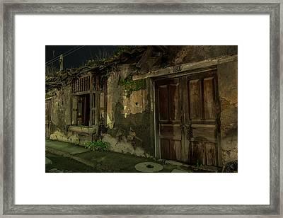 Old Number 20 Framed Print