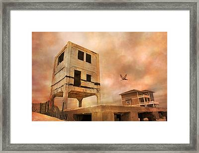 Old Ocean City Framed Print by Betsy Knapp