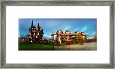 Old Oil Refinery, Gasworks Park Framed Print