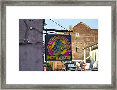 Old Opera House - New Orleans Framed Print
