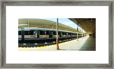 Old Orient Express Train Station Framed Print