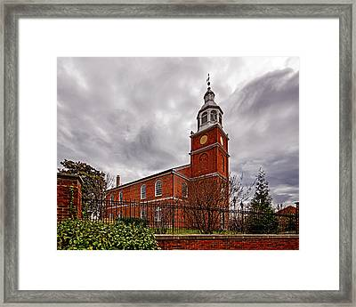 Old Otterbein Country Church Framed Print