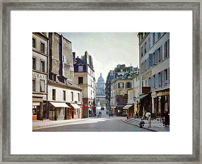Framed Print featuring the photograph Old Paris by Bill OConnor