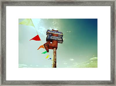 Old Pawn Framed Print by Jeff Klingler