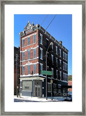 Old Penn Hotel - Johnstown Pa Framed Print