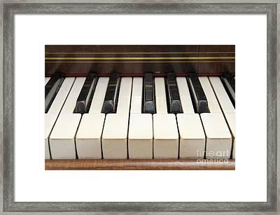 old piano II Framed Print