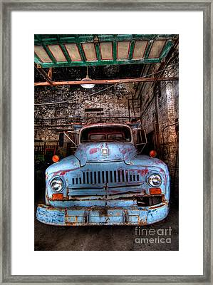 Old Pickup Truck Hdr Framed Print by Amy Cicconi