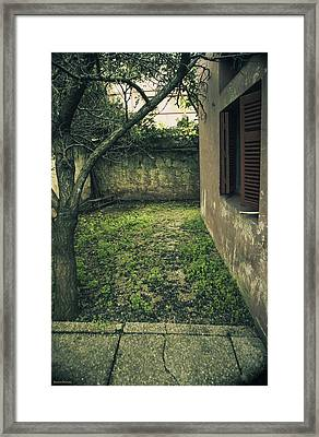 Old Place Framed Print by Diaae Bakri