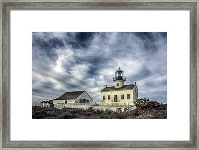 Old Point Loma Lighthouse Framed Print