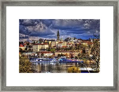 Old Port Belgrade Framed Print