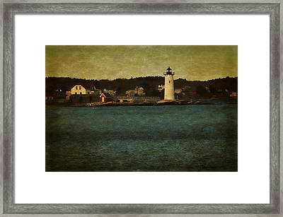 Old Portsmouth Lighthouse Framed Print