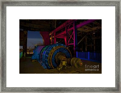 Old Power Plant Framed Print by Keith Kapple