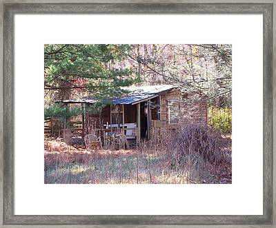 Old Rag Hiking Trail - 12121 Framed Print by DC Photographer
