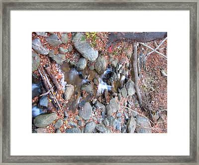 Old Rag Hiking Trail - 121257 Framed Print by DC Photographer