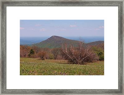 Old Rag Mountain Framed Print
