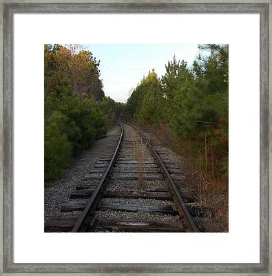Old Railroad Framed Print