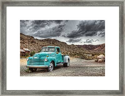 Old Reliable Framed Print by Eddie Yerkish