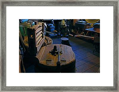 Old Ringer Washing Machine Framed Print by Mike Flynn