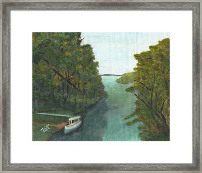 Old River Framed Print