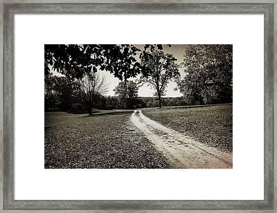 Old Road Framed Print