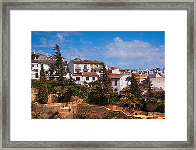 Old Ronda. Andalusia. Spain Framed Print