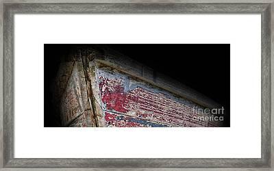 Old Rowboat Framed Print by Lee Dos Santos
