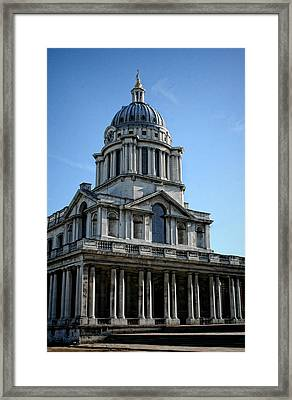 Old Royal Naval College Framed Print by Heather Applegate