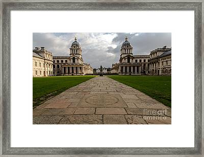 Old Royal Naval College Framed Print by John Daly