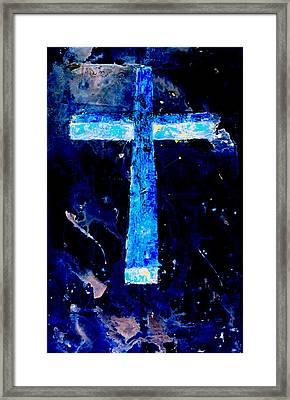 Old Rugged Cross II Framed Print