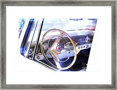 Old Russian Car Framed Print by Lali Kacharava