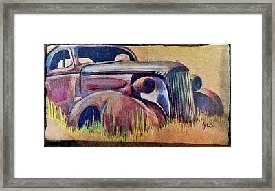 Old Rust Framed Print