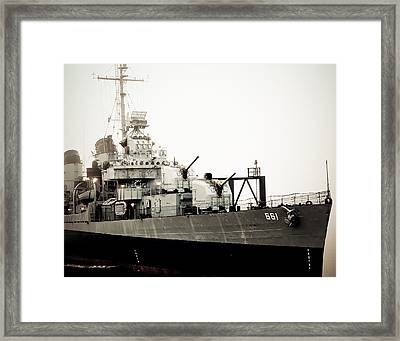 Old Sailor Framed Print by Maggy Marsh