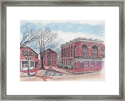 Old Salem City Hall Framed Print