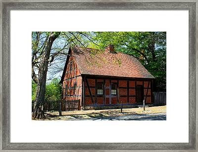 Old Salem Scene 3 Framed Print