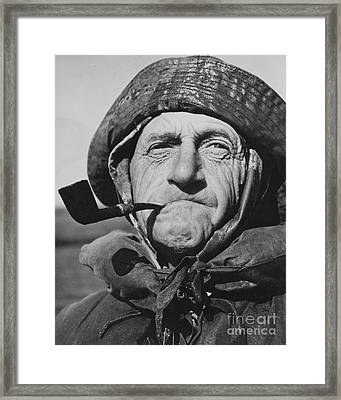 Old Salt 1943 Framed Print
