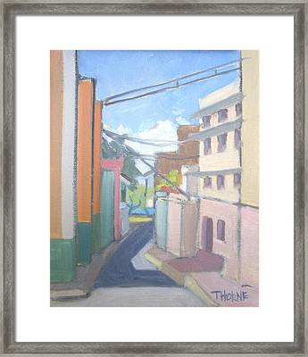 Old San Juan Framed Print by Marcus Thorne