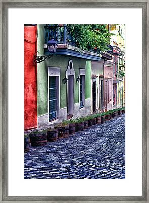 Old San Juan Puerto Rico Framed Print by Thomas R Fletcher