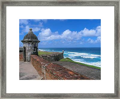 Old San Juan Puerto Rico  Framed Print by Trace Kittrell