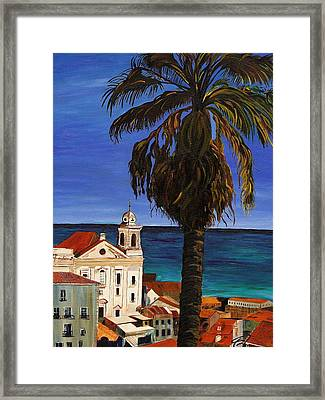 Old San Juan Ruerto Rico  Framed Print by Impressionism Modern and Contemporary Art  By Gregory A Page